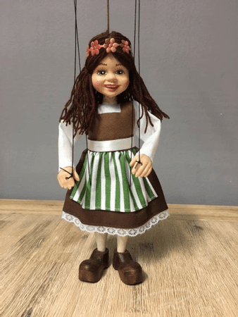 LITTLE GIRL, PUPPET MARIONETTE