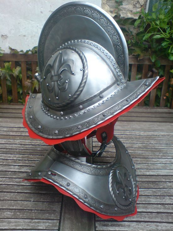 Gorget For The Morion Helmet Wulflund Com