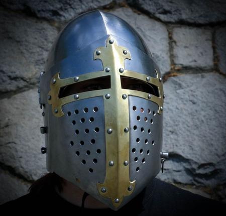 Medieval Visor Helmet Combat 2 Mm Wulflund Com