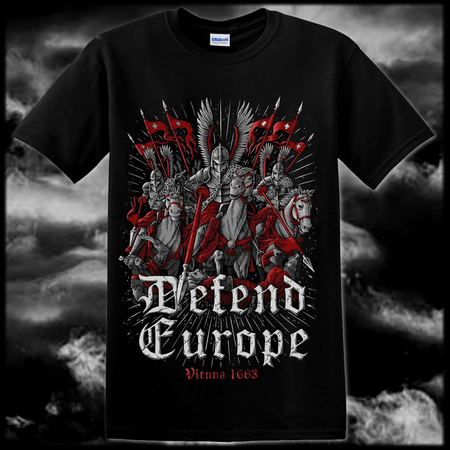 DEFEND EUROPE, WIEN 1683, T-SHIRT