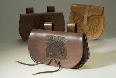 LEDERTASCHE - CELTIC