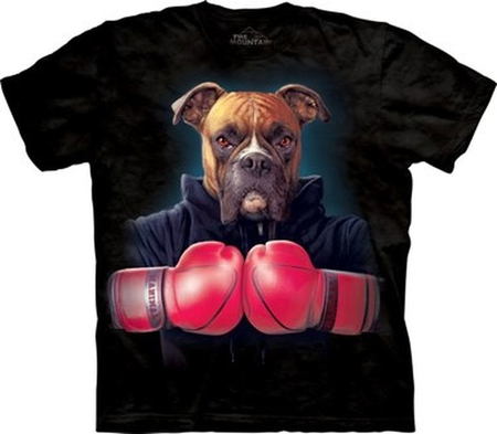 BOXER ROCKY - MANIMALS T SHIRT MOUNTAIN