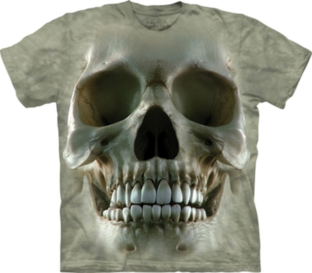BIG FACE SKULL, T-SHIRT, THE MOUNTAIN