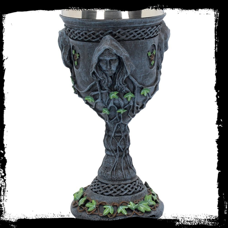 MOTHER MAIDEN & CRONE CHALICE