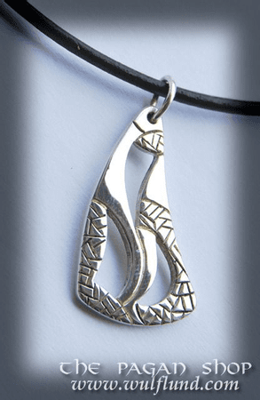 CELTIC NECKLACE, HANDCRAFTED SILVER JEWEL IV