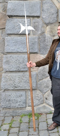 Halberd Replica Of A Two Handed Pole Weapon Wulflund Com