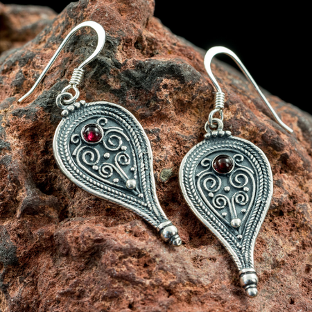 ROMA, ANCIENT ROMAN EARRINGS, SILVER