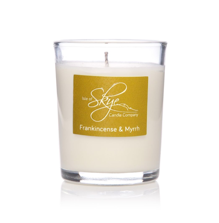 FRANKINCENSE & MYRRH VOTIVE CANDLE