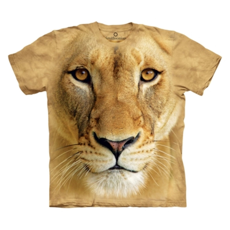 BIG FACE LIONESS, T-SHIRT, THE MOUNTAIN