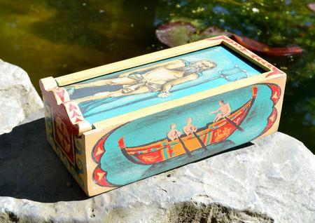 Neptunus Ancient Rome Wooden Box Replica Wulflund Com