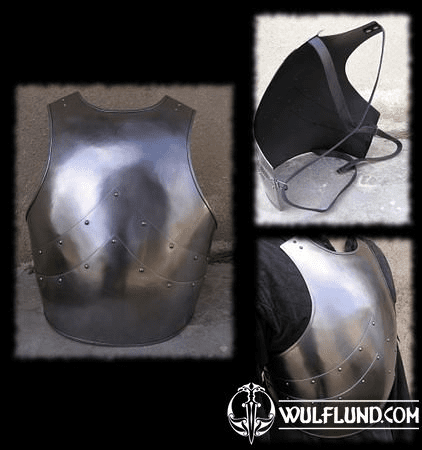 CUIRASS, BREAST PLATE 1,5 MM