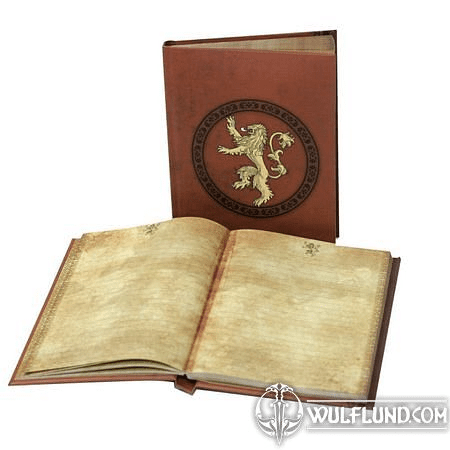 GAME OF THRONES - LANNISTER, NOTEBOOK WITH LIGHT