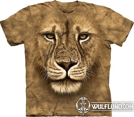 LION WARRIOR, THE MOUNTAIN, T-SHIRT