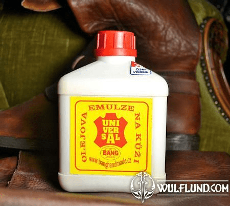 OIL EMULSION FOR LEATHER CARE 0,5 L