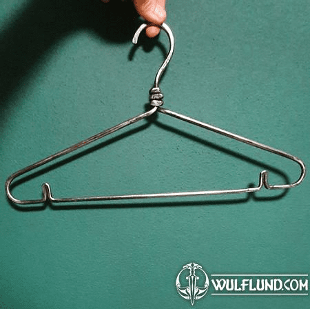 CLOTHES HANGER, FORGED