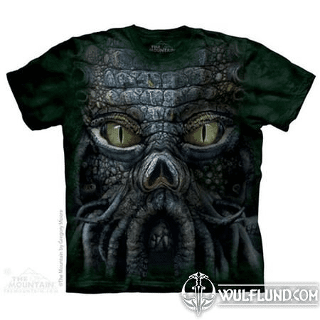 BIG FACE CTHULHU - FANTASY T-SHIRT THE MOUNTAIN