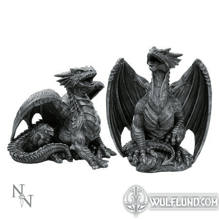 DRAGONS, DARK FURY, SET OF 2