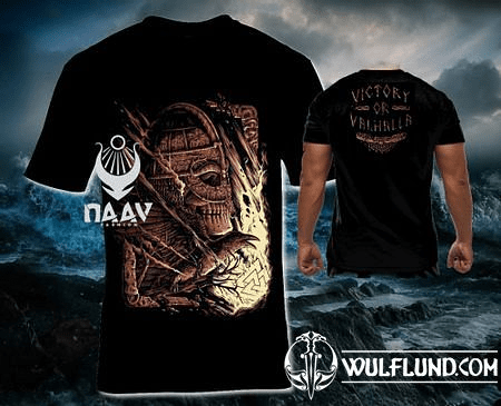 VICTORY OR VALHALLA, VIKING T-SHIRT, MEN'S NAAV