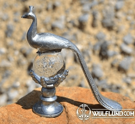 PEACOCK. TIN FIGURE