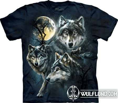 MOON WOLVES, T-SHIRT, THE MOUNTAIN