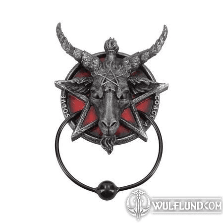 BAPHOMET, DOOR KNOCKER