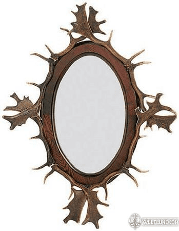 ANTLER MIRROR, STAG