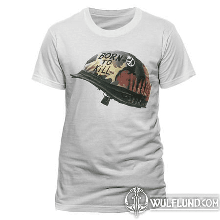 FULL METAL JACKET - HELMET, UNISEX T-SHIRT - WHITE