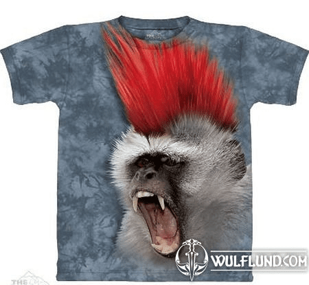 PUNKY MONKEY, THE MOUNTAIN, T-SHIRT