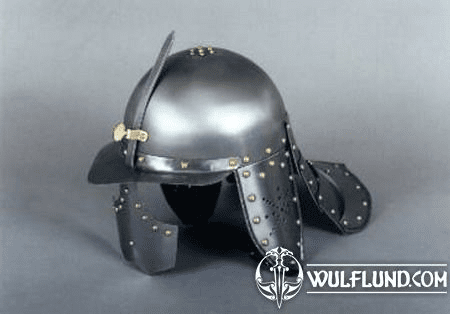 LOBSTER TAIL HELMET - 17TH CENTURY