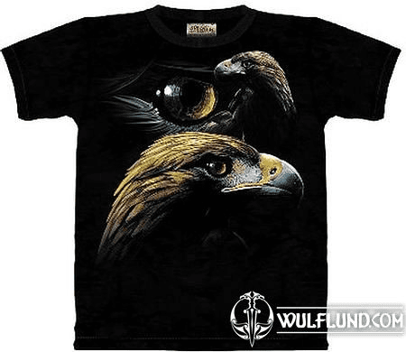 GOLDEN EAGLE COLLAGE, THE MOUNTAIN, T-SHIRT