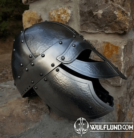 STEFNIR, VIKING OCULAR HELMET WITH CHEEK GUARDS