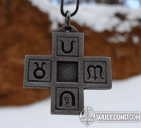 CROSS OF WEALTH AND HAPPINESS, PENDANT