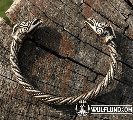 CELTIC DRAGON, BRACELET, BRONZE