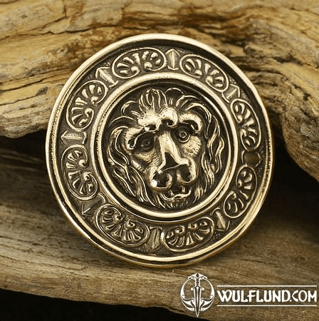 LION'S HEART, RIVET, BRONZE