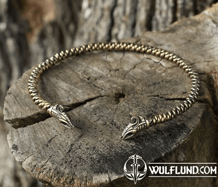 JELLING - VIKING DRAGON, TORC
