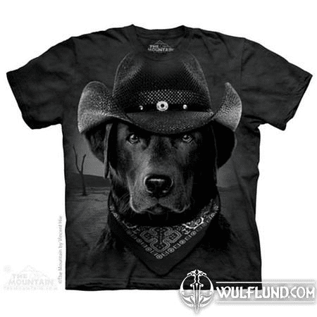 COWBOY LAB - DOG T-SHIRT THE MOUNTAIN