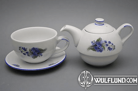 TEA SET DUO, FORGET-ME-NOT