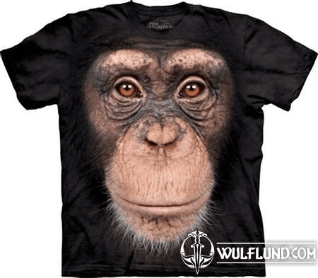 CHIMP FACE - PRIMATE, T-SHIRT THE MOUNTAIN