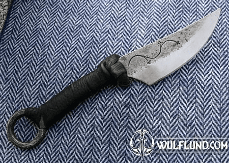 MORCANT, HAND FORGED CELTIC KNIFE