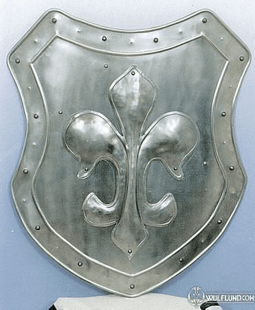 DECORATIVE SHIELD - LILY
