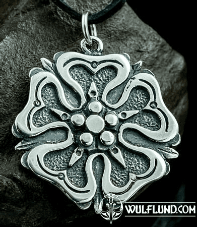 ROSE, HOUSE OF ROSENBERGS, PENDANT, SILVER