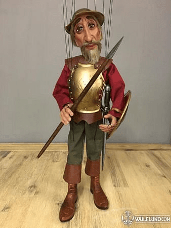 DON QUIJOTE, LARGE MARIONETTE