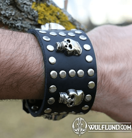ROCKER, LEATHER BRACELET XXV