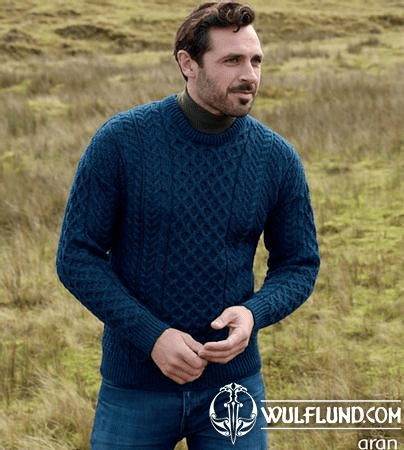 SEÁN TRADITIONAL ARAN SWEATER