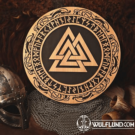 VALKNUT  WALL DECORATION