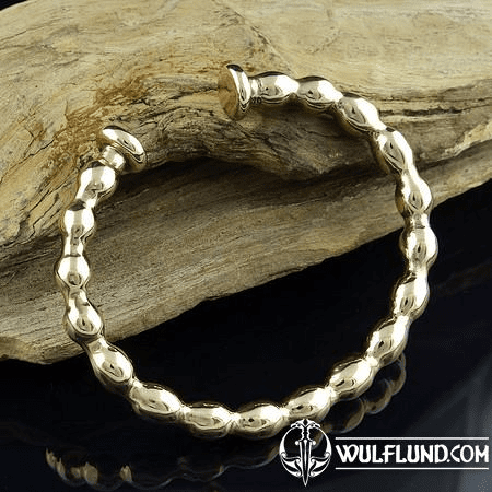 CELTIC BRACELET, REPLICA, BRONZE