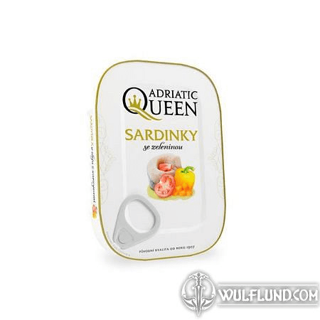 SARDINES WITH VEGETABLES 105 G - ADRIATIC QUEEN