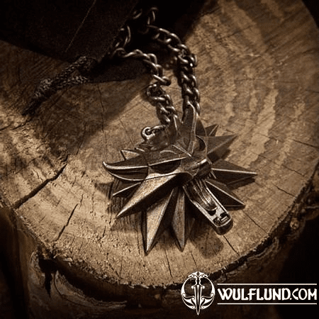 WITCHER - WILD HUNT, MEDALLION