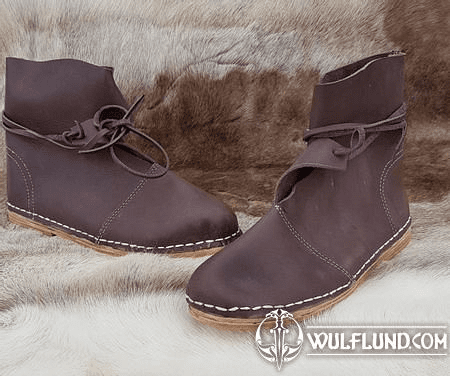 OLUF, EARLY MEDIEVAL BOOTS - VIKINGS