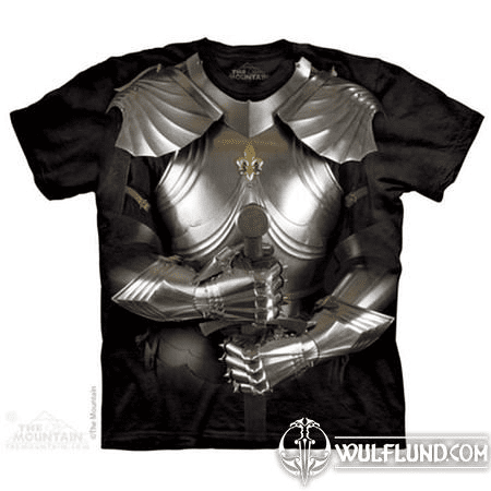 BODY ARMOR - KNIGHT, THE MOUNTAIN, T-SHIRT